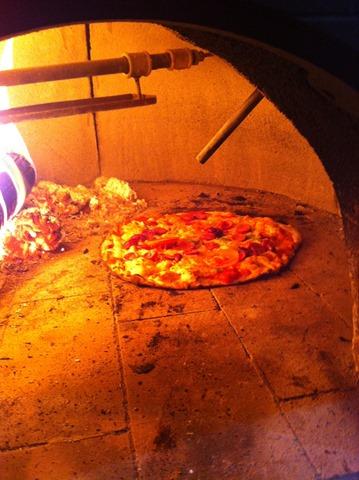 Forno pedra pizza
